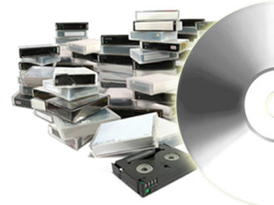 Silver  Video to DVD Transfer