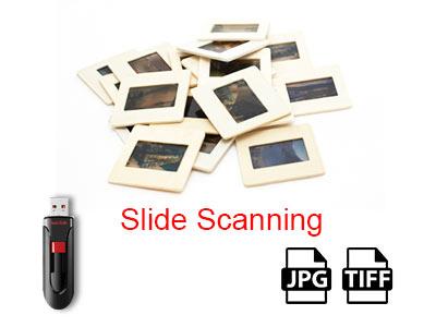 Slide Scanning Service
