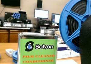 recondition film anti static solvent clean moldy and mildew film