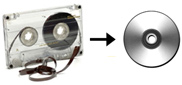 Audio Cassette Tape to CD Transfer