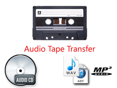 Audio Cassette Tape Transfer