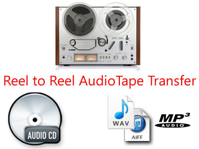 Reel to Reel Audio Tape Transfer