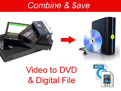 Video to DVD and Digital File