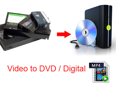 Video to DVD and Digital mp4 File