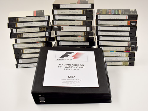 vcr tape to dvd