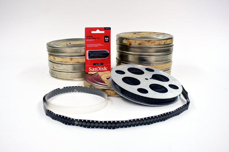 16mm film transfer to digital