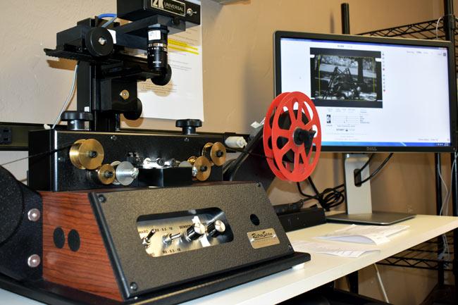 Convert film to digital mp4