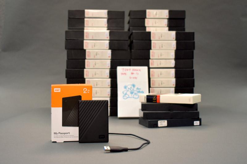 convert u-matic tape to digital