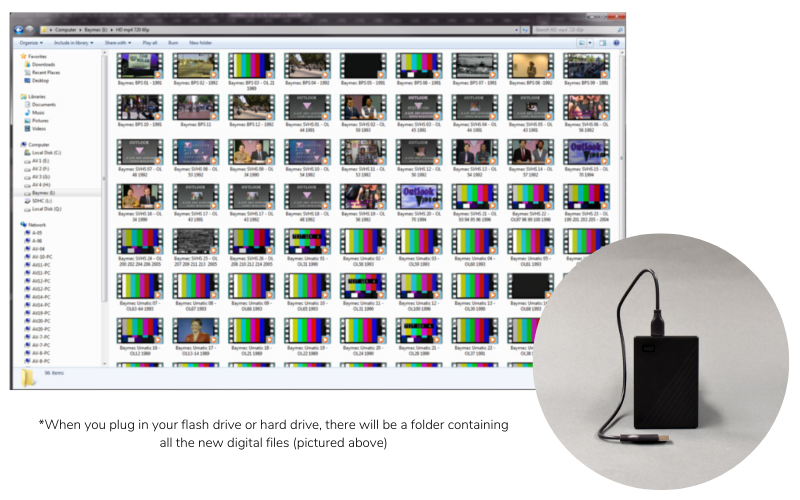 Convert Videotapes to Digital Files