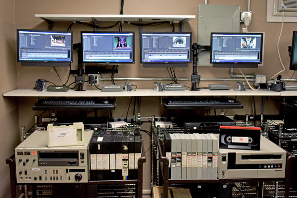 U-matic and Betacam Transfer to mp4 File